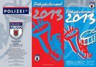 Programm zum Downloaden.... - Verein der Polizeimusik Vorarlberg