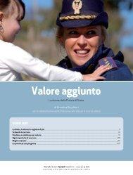 Valore aggiunto - Polizia di Stato