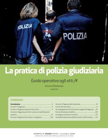 La pratica di polizia giudiziaria - Polizia di Stato