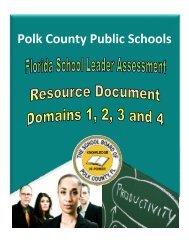 Florida School Leaders FlipBook - Polk County School District
