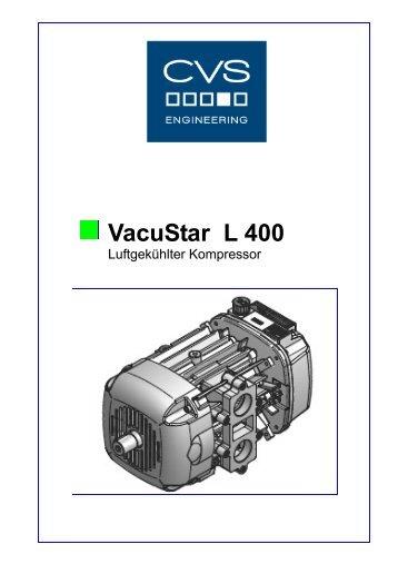 Kompressor Vacustar L 400-D - CVS Engineering - Compressors