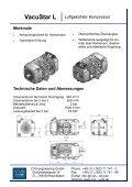 Kompressor Vacustar L 400-D - CVS Engineering - Compressors - Page 2