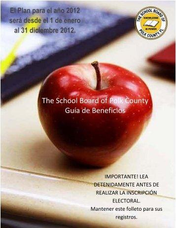The School Board of Polk County Guía de Beneficios