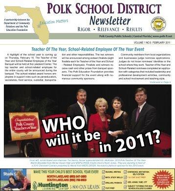 Polk Newsletter February 2011.indd - Polk County School District