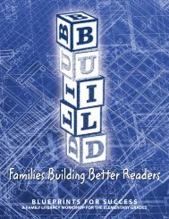 Families Building Better Readers - Polk County School District