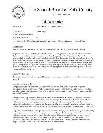 baker job description