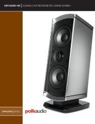 diffusori vm eleganza e alte prestazioni per il grande ... - Polk Audio