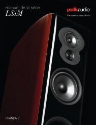 manuel de la série - Polk Audio