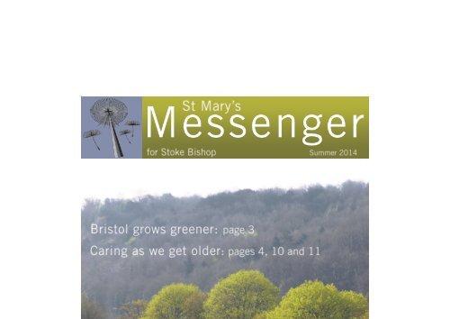St Mary's Messenger - Summer 2014