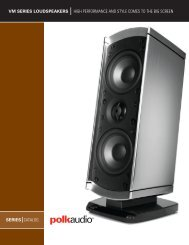 VM Catalog English - Polk Audio
