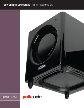 DSW Catalog English - Polk Audio