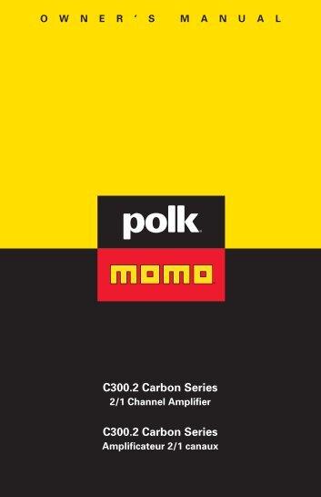 C300.2 Carbon Series C300.2 Carbon Series - Polk Audio