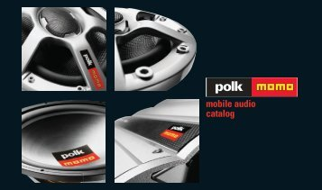 mobile audio catalog - Polk Audio