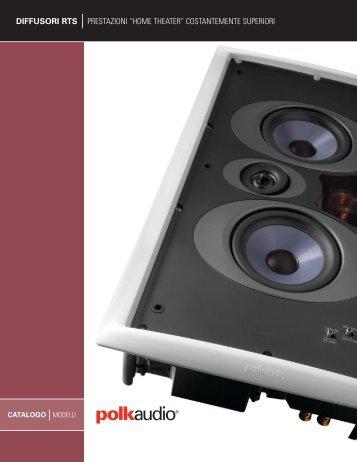"""diffusori rts prestazioni """"home theater"""" costantemente ... - Polk Audio"""
