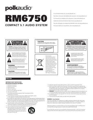 SPK 120105 INST HC5S/B