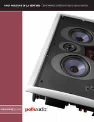 haut-parleurs de la série rts performance supérieure ... - Polk Audio