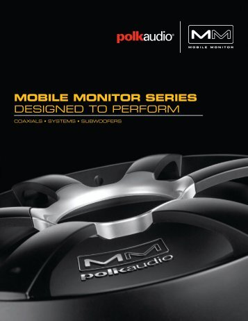 MM Catalog English - Polk Audio