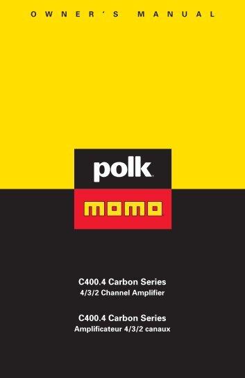 C400.4 Carbon Series C400.4 Carbon Series - Polk Audio