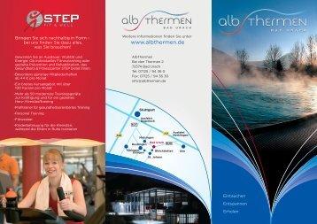 at flyer1.FH11 - Alb Thermen Bad Urach