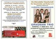 GRAGNANI TRIO - Altenstädter Gesellschaft für Geschichte und Kultur