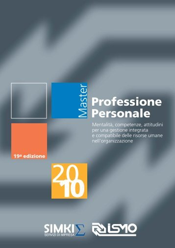 Professione Personale Master - Aidp