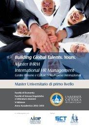 brochure Master IHRM 2012.indd - Aidp