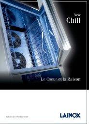 cellule de refroidissement New Chill - Lainox