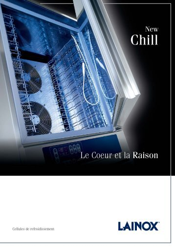 cellule de refroidissement New Chill - Lainox