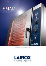 Combi and convection ovens - Lainox