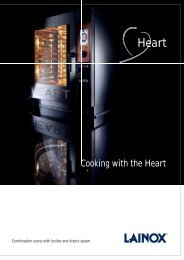 Cooking with the Heart - Lainox