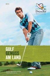 lh golfprospekt 2013 1212 RZ.indd - Landhotels Österreich
