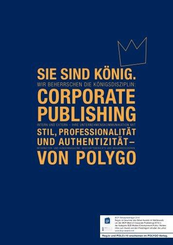von polYgo - Polo+10 Das Polo-Magazin