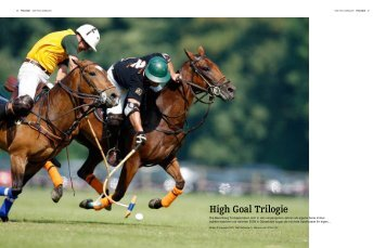 High Goal Trilogie - Polo+10 Das Polo-Magazin