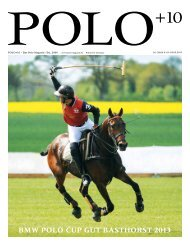 BMW Polo Cup Gut Basthorst 2013 - Polo+10 Das Polo-Magazin