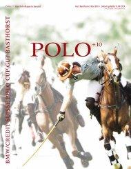 h o r S t - Polo+10 Das Polo-Magazin