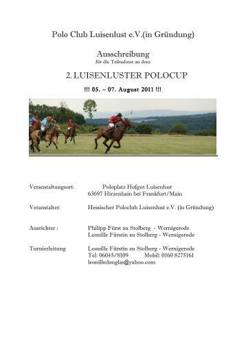 bitte hier klicken - Polo+10 Das Polo-Magazin