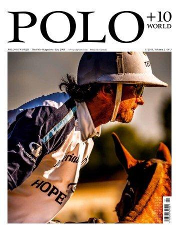 polo+10 world - Polo+10 Das Polo-Magazin
