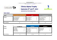 Clinica Alpina Trophy 2012 WEB - Polo Park Zürich AG