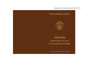 wzory_dyplomow - Politechnika Śląska