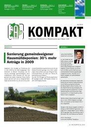 GAB KOMPAKT 01/2010 8-seitiges Magazin - GAB Gesellschaft zur ...
