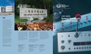 CIE 9000 System Tłumaczeń Symultanicznych DIS - Polsound
