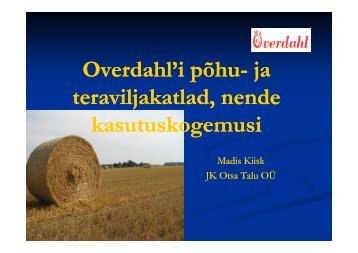 Overdahl'i põhu Overdahl'i põhu ja Overdahl i põhu Overdahl i põhu
