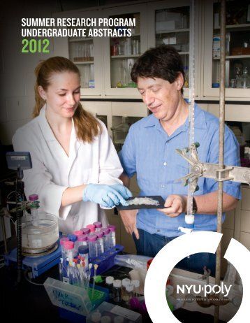 summer research program undergraduate abstracts - Polytechnic ...