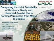 Computing the Joint Probability of Hurricane Sandy and Historical ...