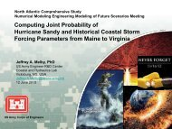 Computing Joint Probability of Hurricane Sandy and Historical ...