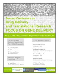 Drug Delivery and Translational Research FOCUS ON GENE ...
