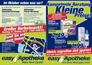 flyer main-park-cent.. - easy Apotheke