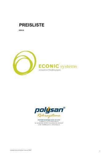 Polysan-Preisliste 04-2008