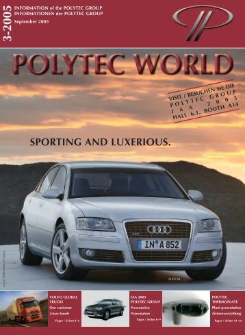 SPORTING AND LUXERIOUS. - polytec