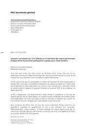 VL Loi sur la restitution des avoirs illicites - CVP